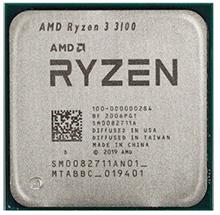 AMD Ryzen 3 3100 3.6GHz AM4 Desktop TRAY CPU
